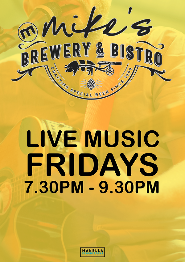 Mike's Bistro - Live Music Friday.png