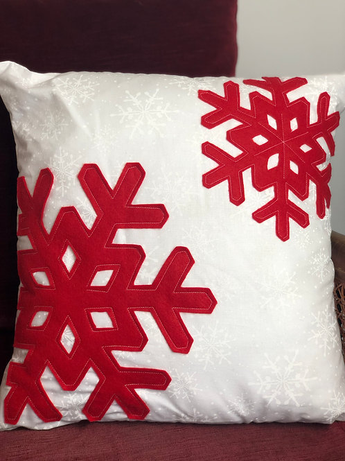 Snowflake Christmas Cushion