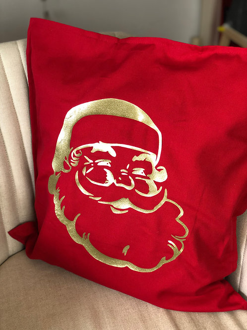 Retro Santa Cushion