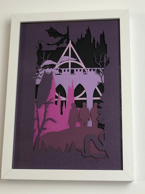 Harry Potter Papercut