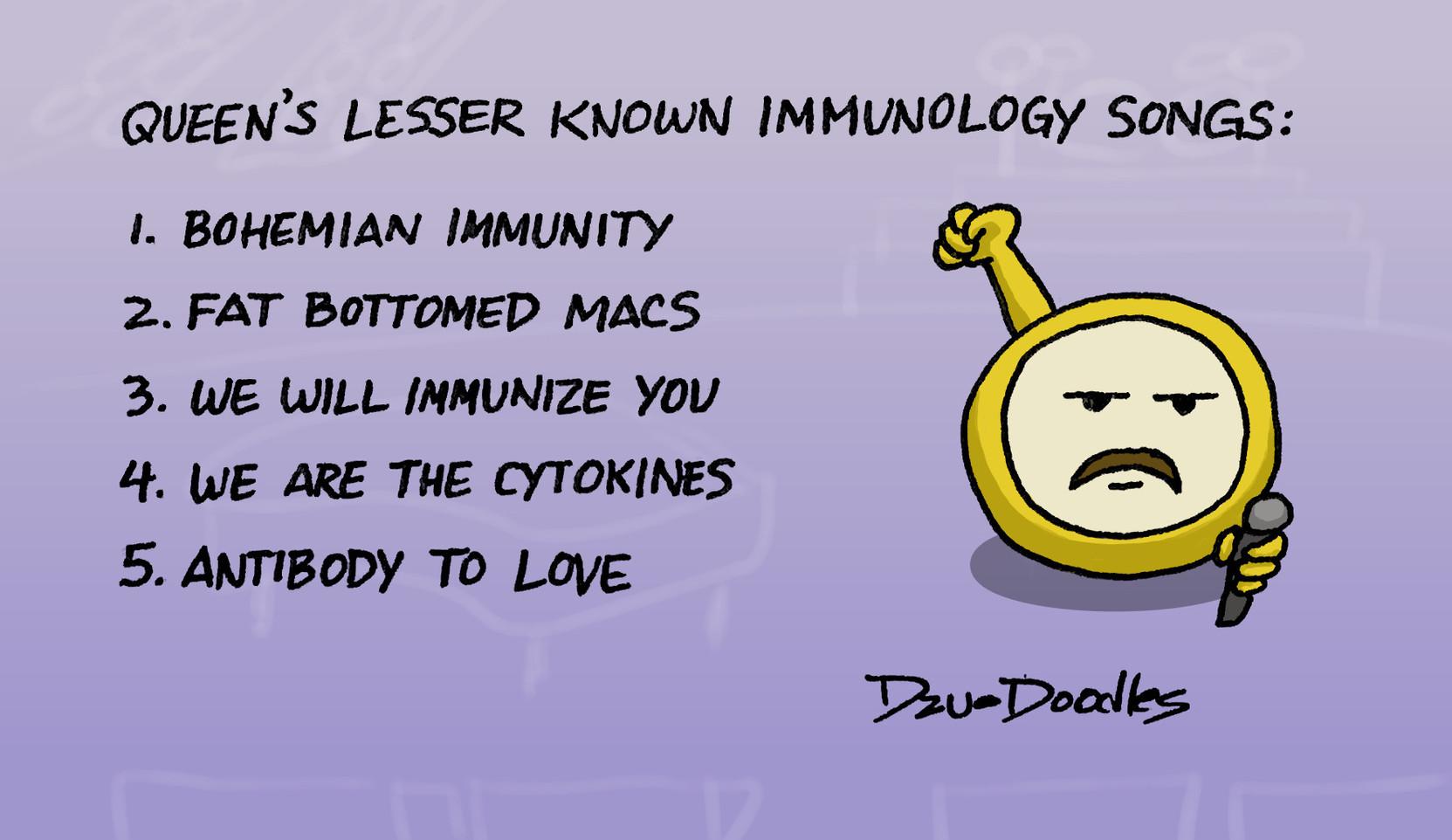 Queen Immunology Songs.jpeg