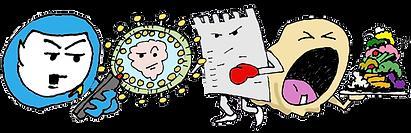 Dzu-Doodles collage