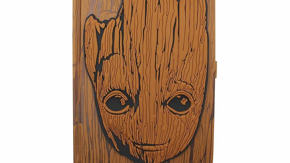 Caderno de anotações c/textura Groot Guardiões da Galáxia