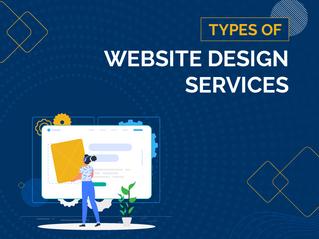 Types of Website Design Services