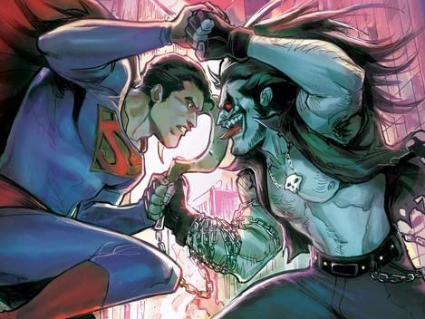 "DC Black Label: ""Superman vs. Lobo"" Comic im verfräggten August"