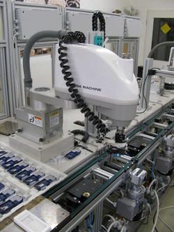 SCARA robot assembly unit