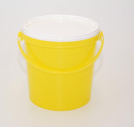 12kg food grade bucket +lid