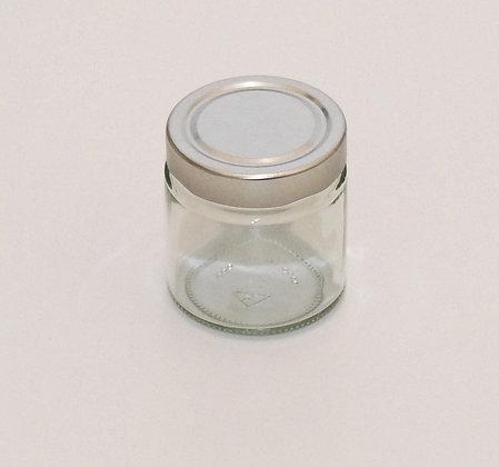 212ml glass jar+lid