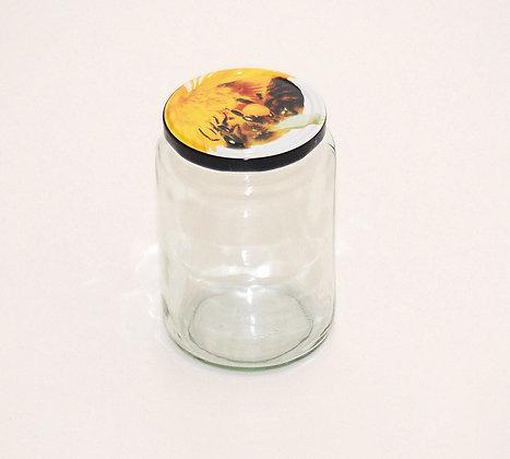 1kg glass jar+lid