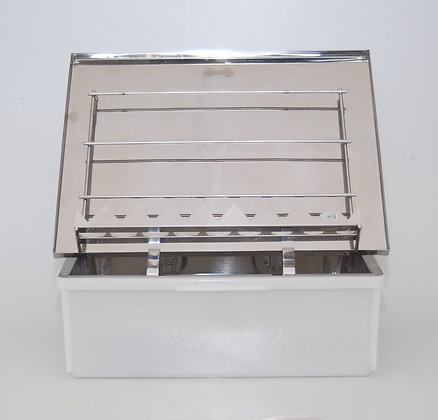 Rost Frei uncapping tray (stainless steel)