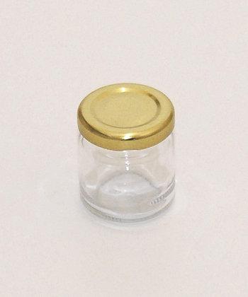 53ml glass jar+lid