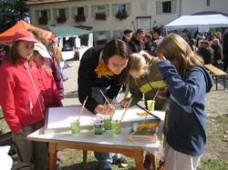 Kinderprogramm beim Hoffest