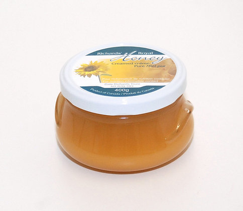 Local creamed honey 400g