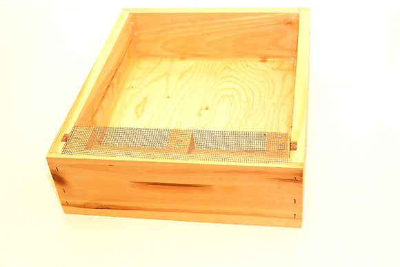 Locally made wooden top feeders