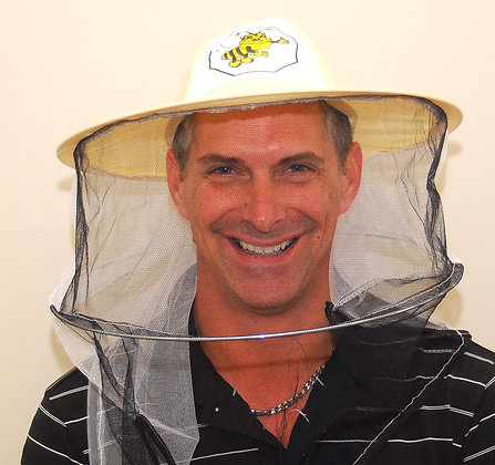 Veil with bee picture