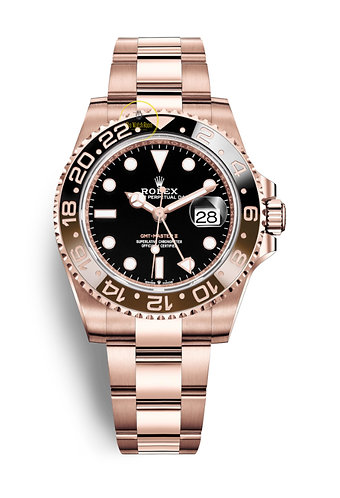 Rolex GMT-Master II Solid 18ct Everose Gold - 2020