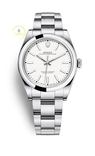 Rolex Oyster Perpetual 39mm White Dial - 2019