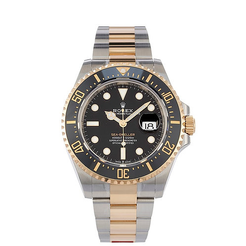 Rolex Sea-Dweller Yellow Gold and Steel
