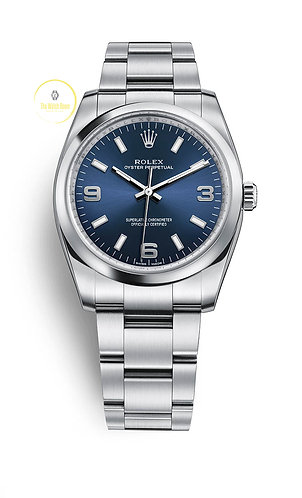 Rolex Oyster Perpetual 34mm Blue Dial - 2020