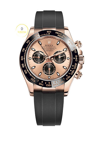 Rolex Cosmograph Daytona Everose Gold Oysterflex - 2021