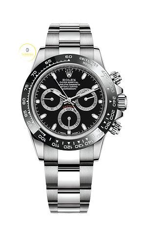 Rolex Cosmograph Daytona Black Dial - 2021