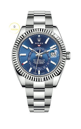 Rolex Sky-Dweller Steel and White Gold Blue Dial - 2018