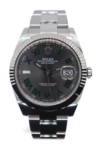 Rolex Datejust 41 Steel and White Gold