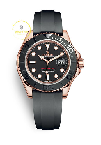 Rolex Yacht-Master 40 Everose Gold on Oysterflex - 2020
