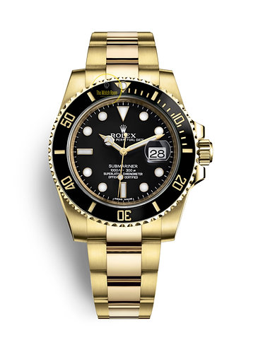 Rolex Submariner Date 18K Yellow Gold - 2019