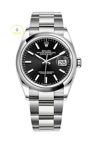 Rolex Datejust 36 Bright Black Dial - 2020