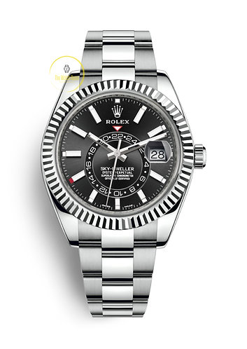 Rolex Sky-Dweller Steel and White Gold Black Dial - 2019