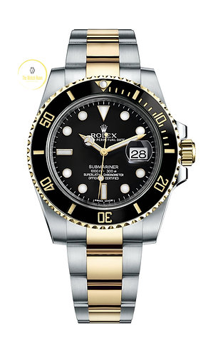 Rolex Submariner Date Steel/Gold Black Dial - 2019