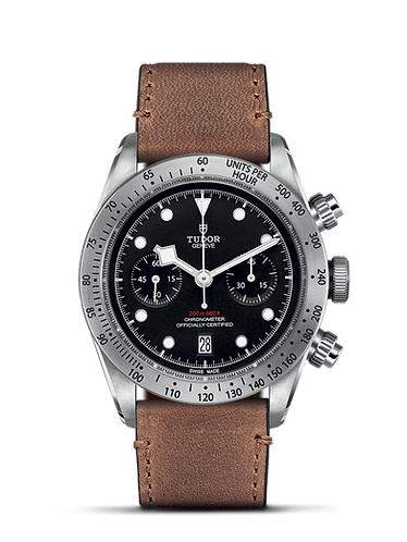 Tudor Black Bay Chrono 41mm Leather