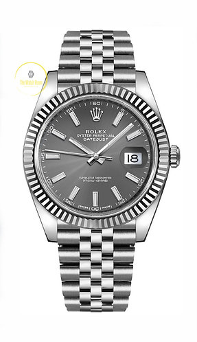 Rolex Datejust 41 Steel and White Gold - 2020