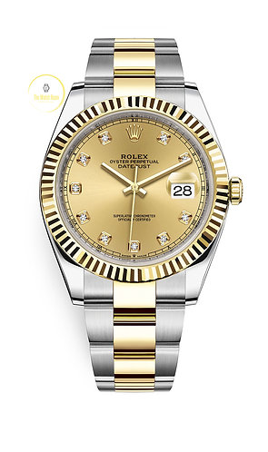 Rolex Datejust 41 Steel and Yellow Gold - 2020