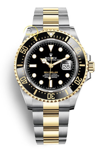 Rolex Sea-Dweller 43 Steel and Yellow Gold