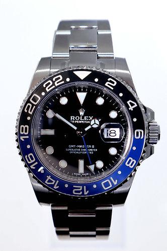 "Rolex GMT-Master II ""Batman"" Oyster"