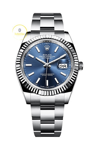 Rolex Datejust 41 Steel and White Gold - 2019