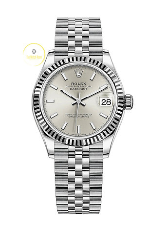 Rolex Datejust 31mm Steel and White Gold Silver Dial - 2021