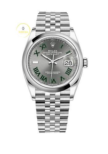 Rolex Datejust 36 Wimbledon Dial - 2021