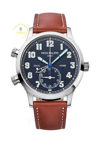 Patek Philippe Calatrava Pilot Travel Time 5524G - 2020