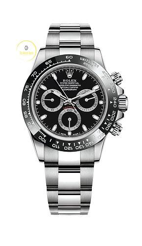 Rolex Cosmograph Daytona Black Dial - 2020