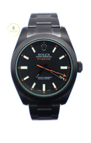 Rolex Milgauss Black Venom DLC Limited Edition - 2020
