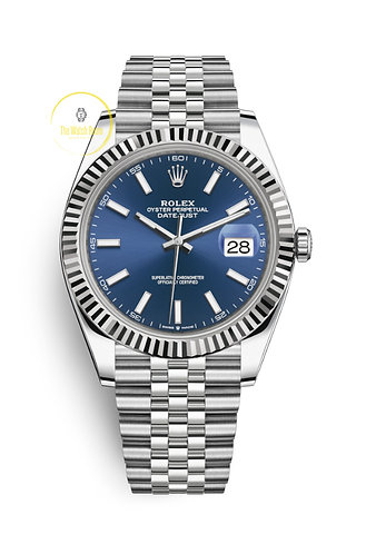 Datejust 41 Steel and White Gold - 2019