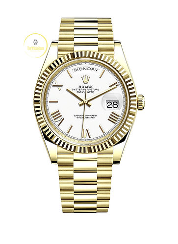 Rolex Day-Date 40 18ct Yellow Gold - 2021
