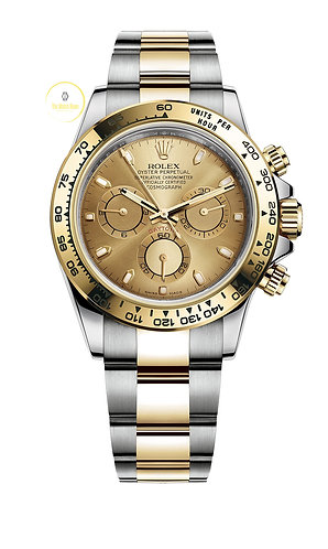 Rolex Cosmograph Daytona Steel and Yellow Gold Champagne Dial - 2020