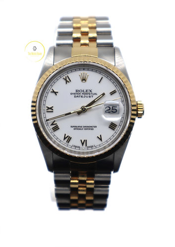 Rolex Datejust 36 steel and yellow gold - 1991