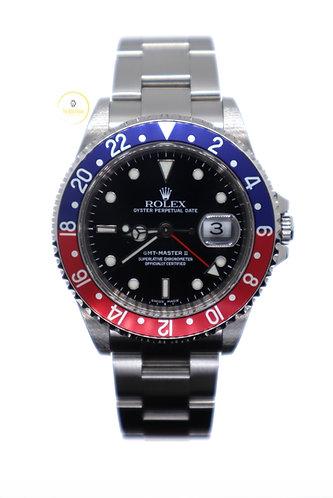 """Rolex GMT-Master II """"Pepsi"""" 16710 - 2000"""