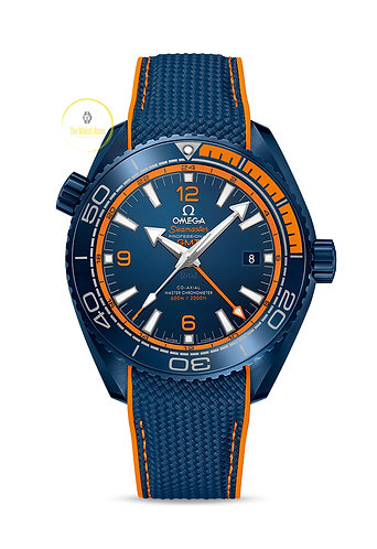 Omega Seamaster Planet Ocean Co-axial Master Chronometer GMT (Big Blue)