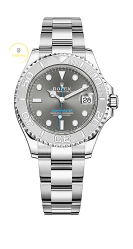 Rolex Yacht-Master 37 Steel and Platinum - 2020